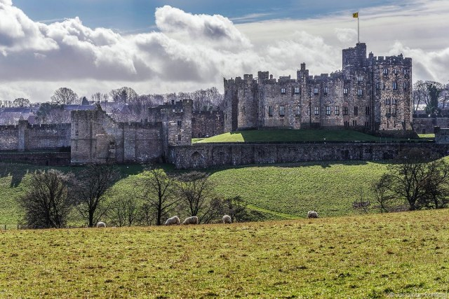 Alnwick Castle (Hogwarts uit Harry Potter)