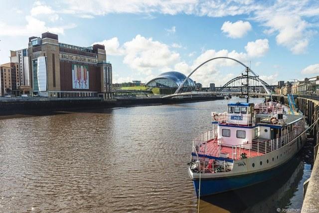 The Tyne River