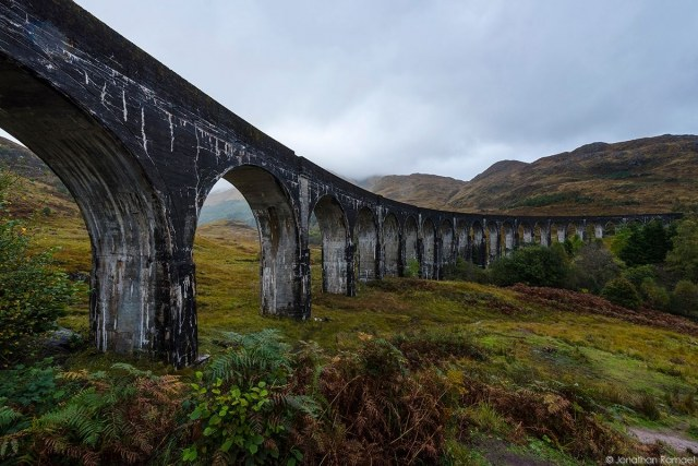 Glenfinnan Viaduct – Harry Potter